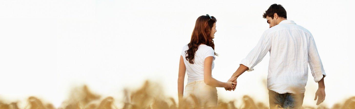 Couple walking in field, Palo Alto Smart Therapy
